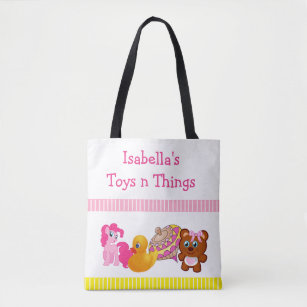 1c57a64ebc5a Toys  n Things Tote Bag for Little Girl s Toys