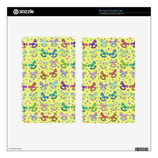 Toys pattern decals for kindle fire