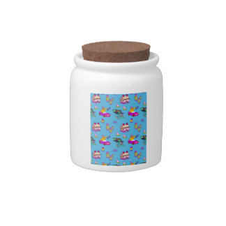 Toys – Pink Dollhouses & Turquoise Kites Candy Jars