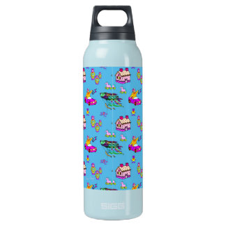 Toys – Pink Dollhouses & Turquoise Kites Insulated Water Bottle