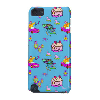 Toys – Pink Dollhouses & Turquoise Kites iPod Touch (5th Generation) Cover