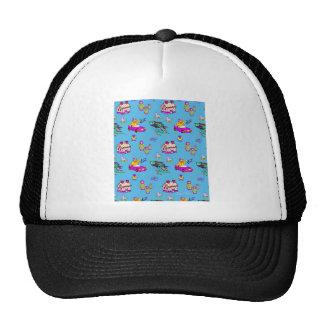 Toys – Pink Dollhouses & Turquoise Kites Mesh Hats