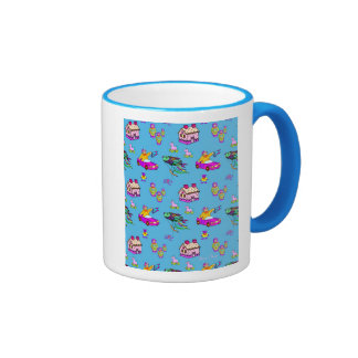 Toys – Pink Dollhouses & Turquoise Kites Coffee Mug