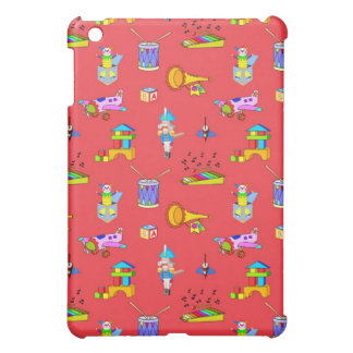 Toys – Purple Drums and Golden Horns iPad Mini Case