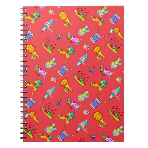Toys – Purple Drums and Golden Horns Notebook