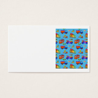 Toys - Red Trucks & Orange Trains Business Card