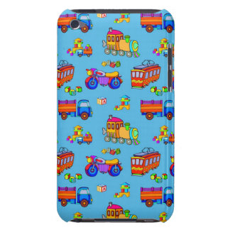 Toys - Red Trucks & Orange Trains Case-Mate iPod Touch Case