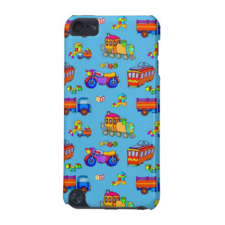 Toys - Red Trucks & Orange Trains iPod Touch 5G Cover