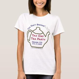 TP0101 Tax Day Tea Party Denver Colorado t-shirt