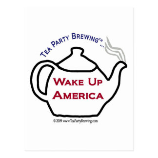 TP0101 Wake Up America Postcard