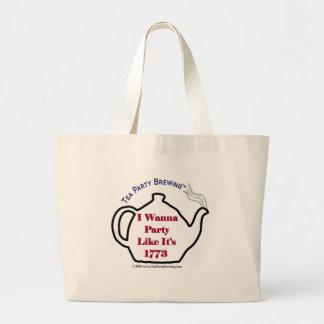 TP0102 Tea Party Like It's 1773 Bag