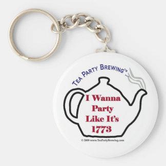TP0102 Tea Party Like It's 1773 Keychain