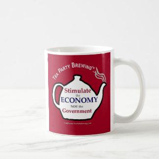TP0104 Stimulate Economy Not Government Mug