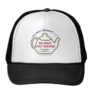 TP0106 Silent No More Member Chattering Class Trucker Hat