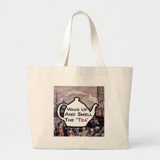 TP0112 Wake Up Smell the Tea Bag bag