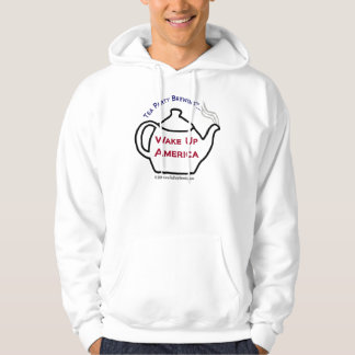 TP101 Tea Party Wake Up America Mens sweatshirt