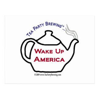 TP101 Wake Up America Postcard