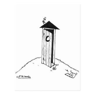 TP Rolls lejos de una dependencia Tarjeta Postal