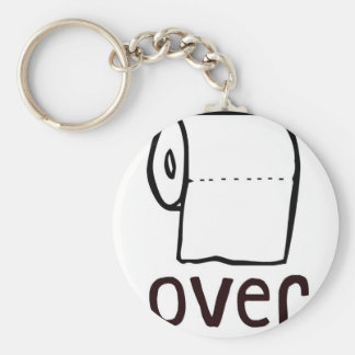 TP Toilet Paper Over Keychain