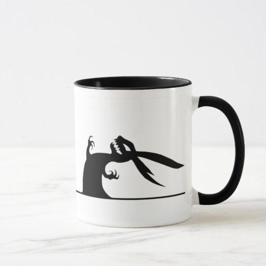 TPBoD Black-on-white mug