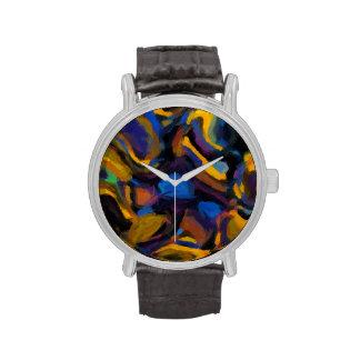 TPD abstracto pintado Relojes De Pulsera