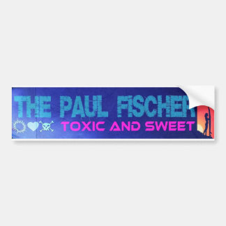 TPF Toxic And Sweet Bumper Sticker