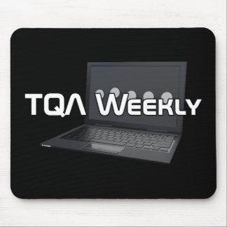 TQA Weekly Black Mousepad