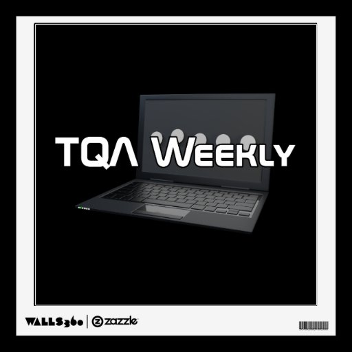 TQA Weekly Wall Decal