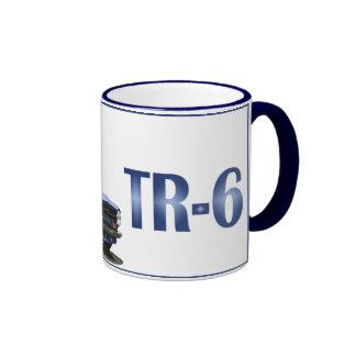 TR6 azul Tazas De Café