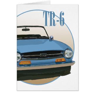 TR6 CARD