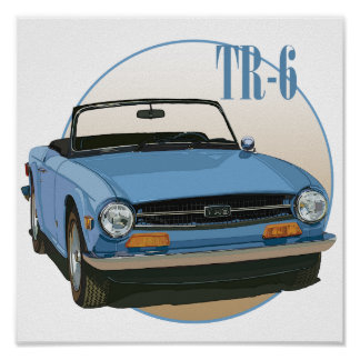 TR6 POSTER
