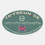 TR-Freun.de Aufkleber Oval