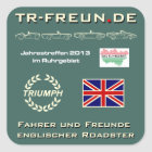 TR-friends meetings 2013 - stickers