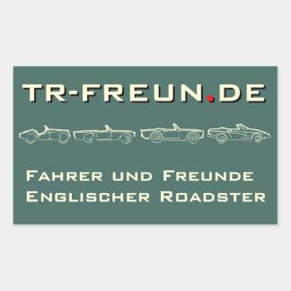 TR-friends of rectangular stickers