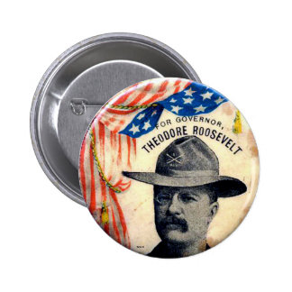 TR para el gobernador - botón Pins