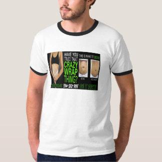 trabaja la camiseta global de las tarjetas de los