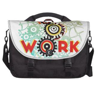 """""""trabaja porque hago que trabaja """" bolsa para ordenador"""