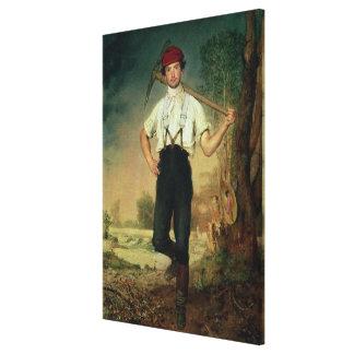 Trabajador, 1848 impresiones en lona