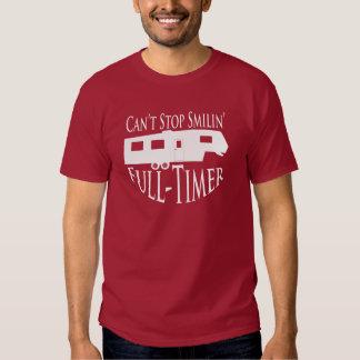 Trabajador a tiempo completo de rv - 5ta camiseta remera