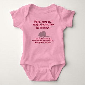 Trabajador de conocimiento futuro body para bebé