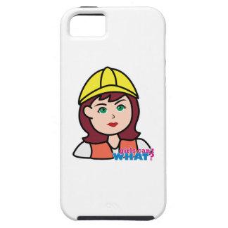 Trabajador de construcción iPhone 5 Case-Mate protector