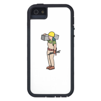 Trabajador de construcción iPhone 5 Case-Mate cobertura