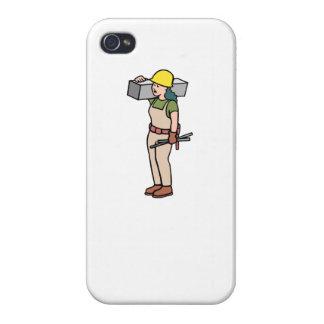 Trabajador de construcción iPhone 4 cárcasa