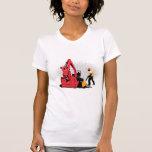 trabajador de construcción picador del excavador m camiseta