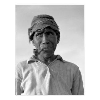 Trabajador de la plantación - subtítulo censurado tarjeta postal