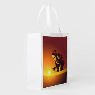 Trabajador de la soldadura bolsa reutilizable