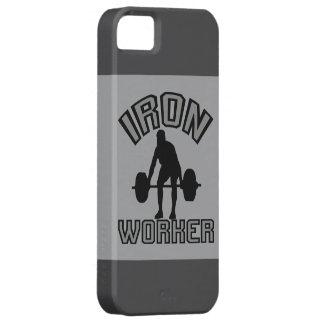 Trabajador del hierro iPhone 5 fundas