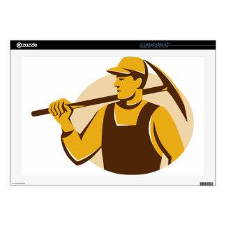 trabajador del minero con el hacha de la selección skins para 43,2cm portátiles