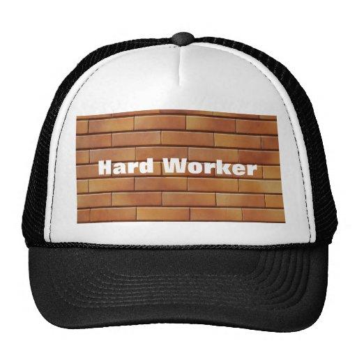 Trabajador Gorros Bordados