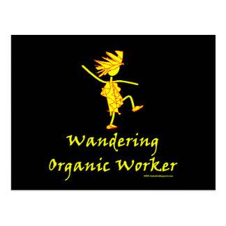 Trabajador orgánico que vaga (ALTAVOZ DE GRAVES) Postal